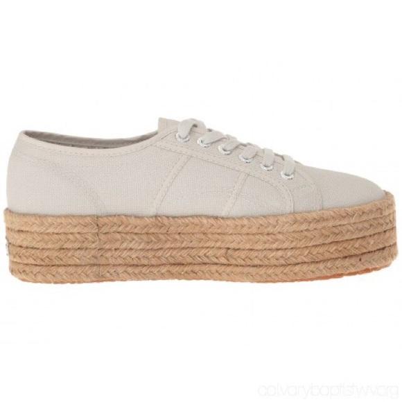 7ded15cf13e Superga 2790 Cotropew Cream Espadrille Sneakers. M 5b74f1192830957b03cf50d0